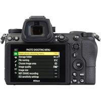 Nikon Z6 + Nikkor Z 24-70 mm S - Vue de dos