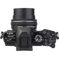 Olympus OM-D E-M10 Mark II + M. Zuiko Digital 14-42 mm EZ ED MSC - Vue de l'objectif