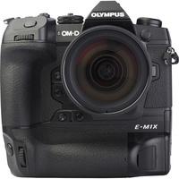 Olympus OM-D E-M1X + M. Zuiko Digital ED 12-40 mm Pro - Vue de face