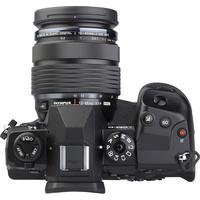 Olympus OM-D E-M1X + M. Zuiko Digital ED 12-40 mm Pro - Vue du dessus