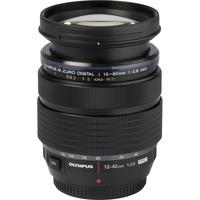 Olympus OM-D E-M1X + M. Zuiko Digital ED 12-40 mm Pro - Vue de l'objectif