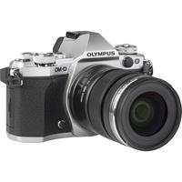 Olympus OM-D E-M5 Mark II + M. Zuiko Digital ED 12-50 mm EZ - Vue de l'objectif
