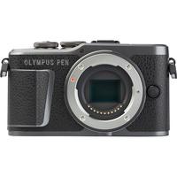 Olympus Pen E-PL10 + M.Zuiko Digital ED 14‑42 mm EZ - Vue de face sans objectif