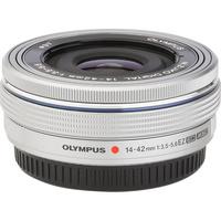 Olympus Pen E-PL9 + M. Zuiko Digital ED 14‑42 mm - Vue de l'objectif