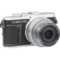 Olympus Pen E-PL9 + M. Zuiko Digital ED 14‑42 mm - Vue de 3/4 vers la droite