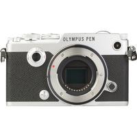 Olympus Pen-F + M. Zuiko Digital 14-42 mm EZ ED MSC - Vue de face