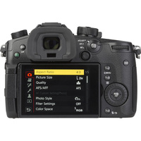 Panasonic Lumix DC-GH5 + Leica DG Vario-Elmarit 12-60 mm Power OIS - Vue de dos