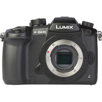 Panasonic Lumix DC-GH5 + Leica DG Vario-Elmarit 12-60 mm Power OIS - Vue de face sans objectif