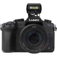 Panasonic Lumix DMC-G80 + Lumix G Vario 14-140 mm Power OIS - Vue de face