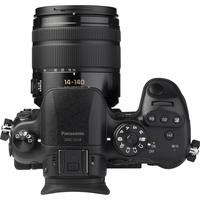 Panasonic Lumix DMC-GH4 + Lumix G Vario 14-140 mm - Vue du dessus