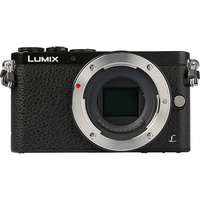 Panasonic Lumix DMC-GM1 + Lumix G Vario 12-32 mm - Vue de face sans objectif