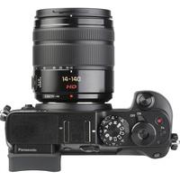 Panasonic Lumix DMC-GX8 + Lumix G Vario 14-140 mm OIS - Vue du dessus