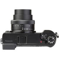 Panasonic Lumix DMC-GX80 + Lumix G Vario 12-32 mm Mega OIS - Vue du dessus