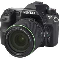 Pentax K-3 II + SMC-DA 18-135 mm ED AL DC WR - Vue principale