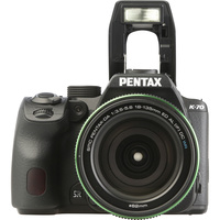 Pentax K-70 + SMC DA 18-135 mm ED AL IF DC WR - Vue du dessus