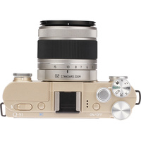 Pentax Q-S1 + O2 Standard Zoom 5-15 mm - Vue du dessus