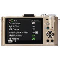 Pentax Q-S1 + O2 Standard Zoom 5-15 mm - Vue de l'objectif