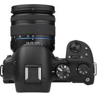 Samsung NX30 + 18-55 mm III OIS - Vue de face sans objectif