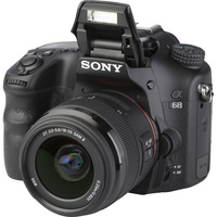 Sony ILCA-68 + DT 18-55 mm SAM II SAL18552 - Vue principale