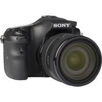 Sony ILCA-77M2 + 16-50 mm SSM SAL1650 - Vue de 3/4 vers la droite