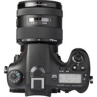 Sony ILCA-77M2 + 16-50 mm SSM SAL1650 - Vue de face sans objectif
