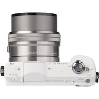 Sony ILCE-5000 + 16-50 mm SELP1650 - Vue de l'objectif