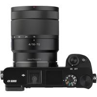 Sony ILCE-6000 + 16-70 mm SELP1670Z - Vue de dos