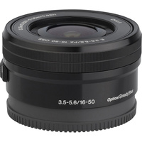 Sony ILCE-6300 + E 16-50 mm PZ OSS SELP1650 - Vue de face