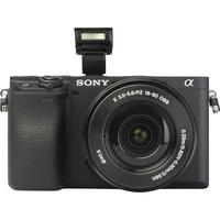 Sony ILCE-6400 + E 16-50 mm PZ OSS SELP1650  - Vue de face