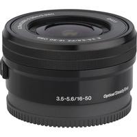 Sony ILCE-6400 + E 16-50 mm PZ OSS SELP1650  - Vue de l'objectif