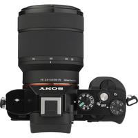 Sony ILCE-7 + 28-70 mm OSS SEL2870 - Vue du dessus