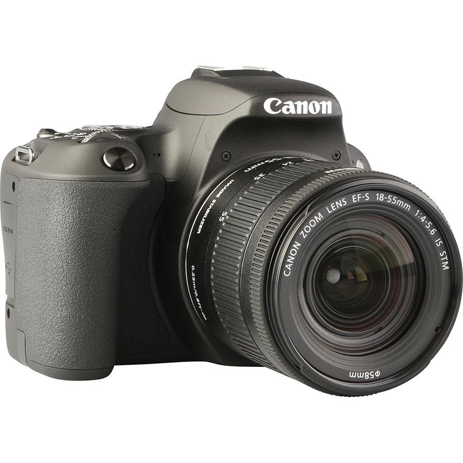 Canon EOS 200D + EF-S 18-55 mm IS STM - Vue de 3/4 vers la droite