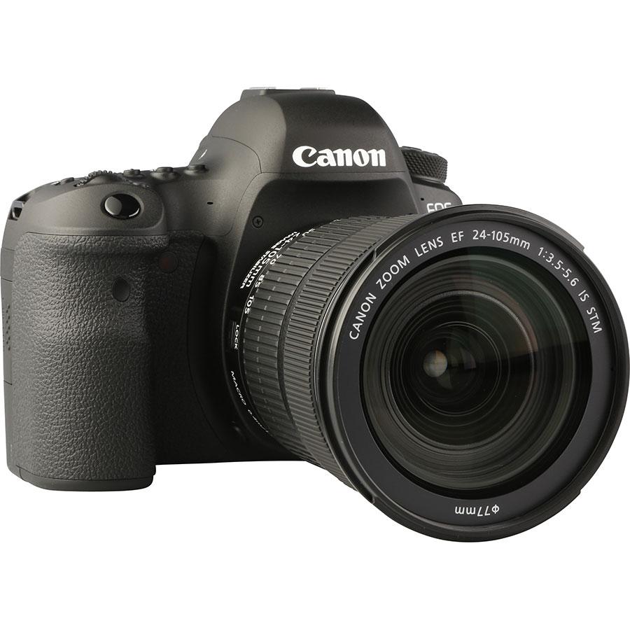 Canon EOS 6D Mark II + EF 24-105 mm IS STM - Vue de 3/4 vers la droite