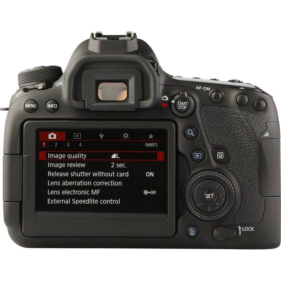 Canon EOS 6D Mark II + EF 24-105 mm IS STM - Vue de dos