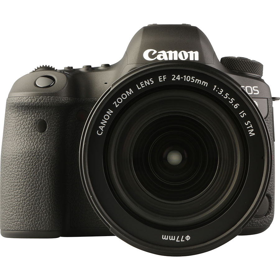 Canon EOS 6D Mark II + EF 24-105 mm IS STM - Vue de face