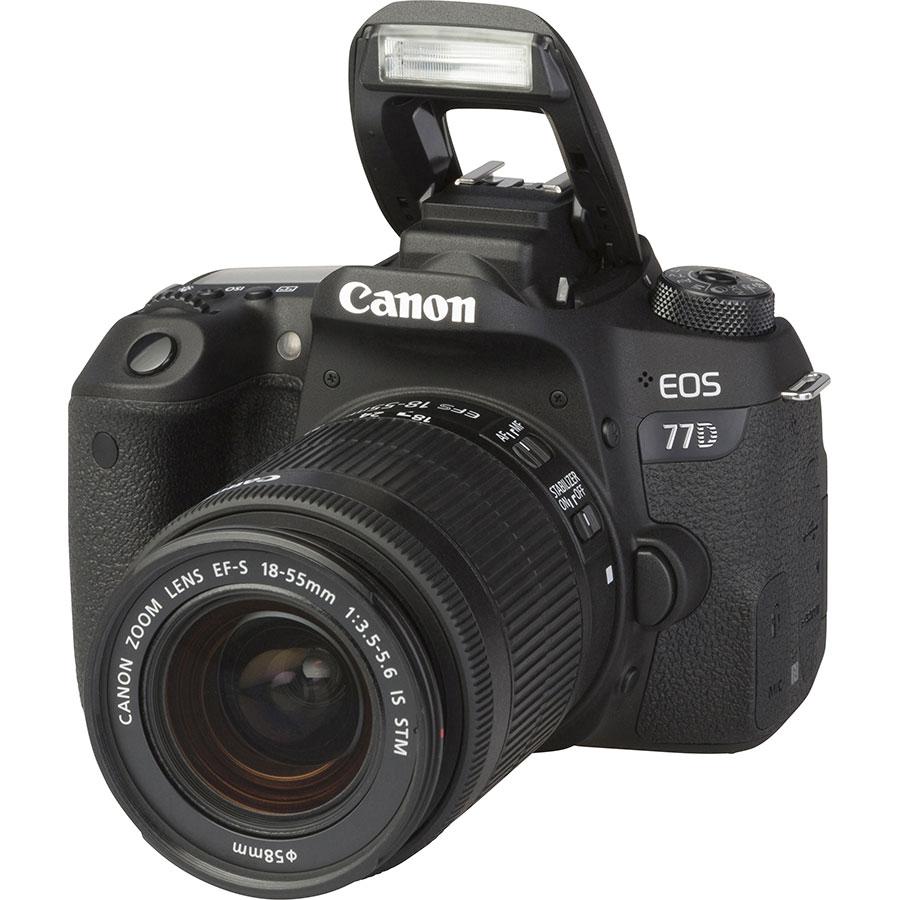 Canon EOS 77D + EF-S 18-55 mm IS STM - Vue principale