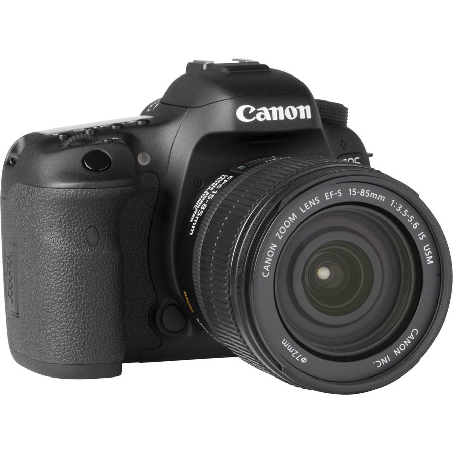 Canon EOS 7D Mark II + EF-S 15-85 mm IS USM - Vue de 3/4 vers la droite