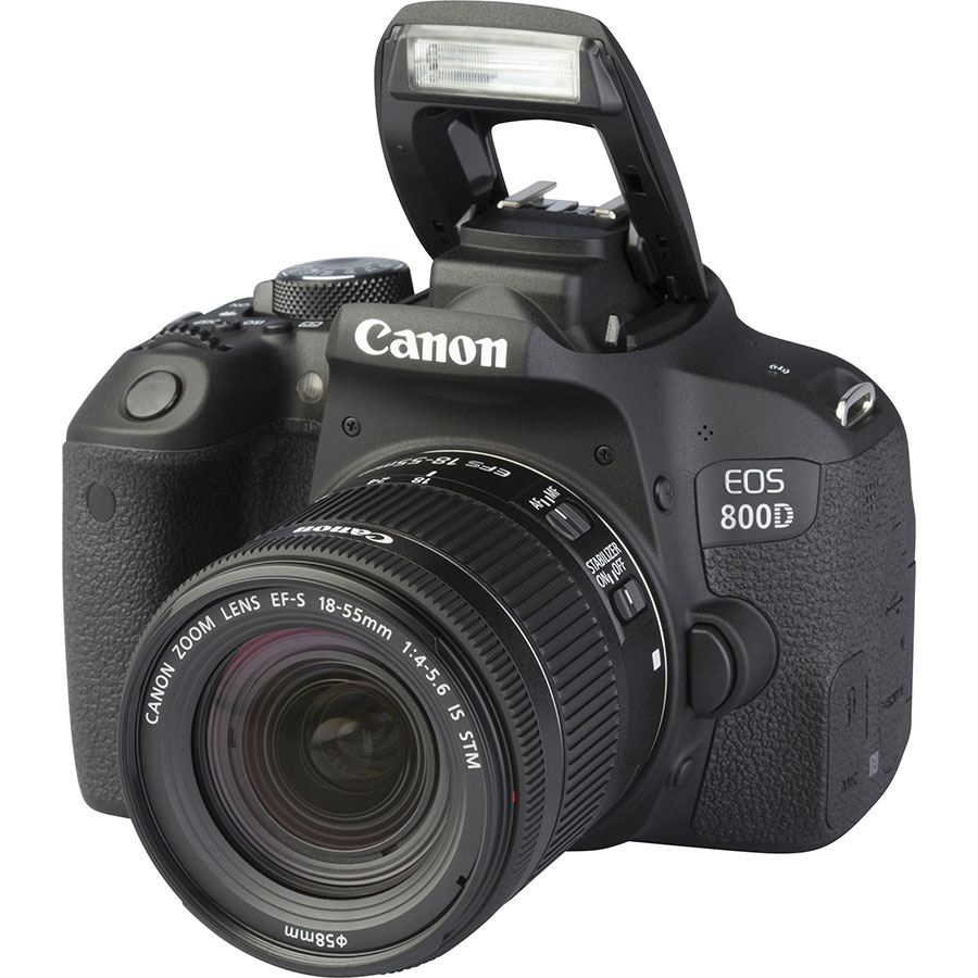 Canon EOS 800D + EF-S 18-55 mm F4-5,6 IS STM - Vue principale