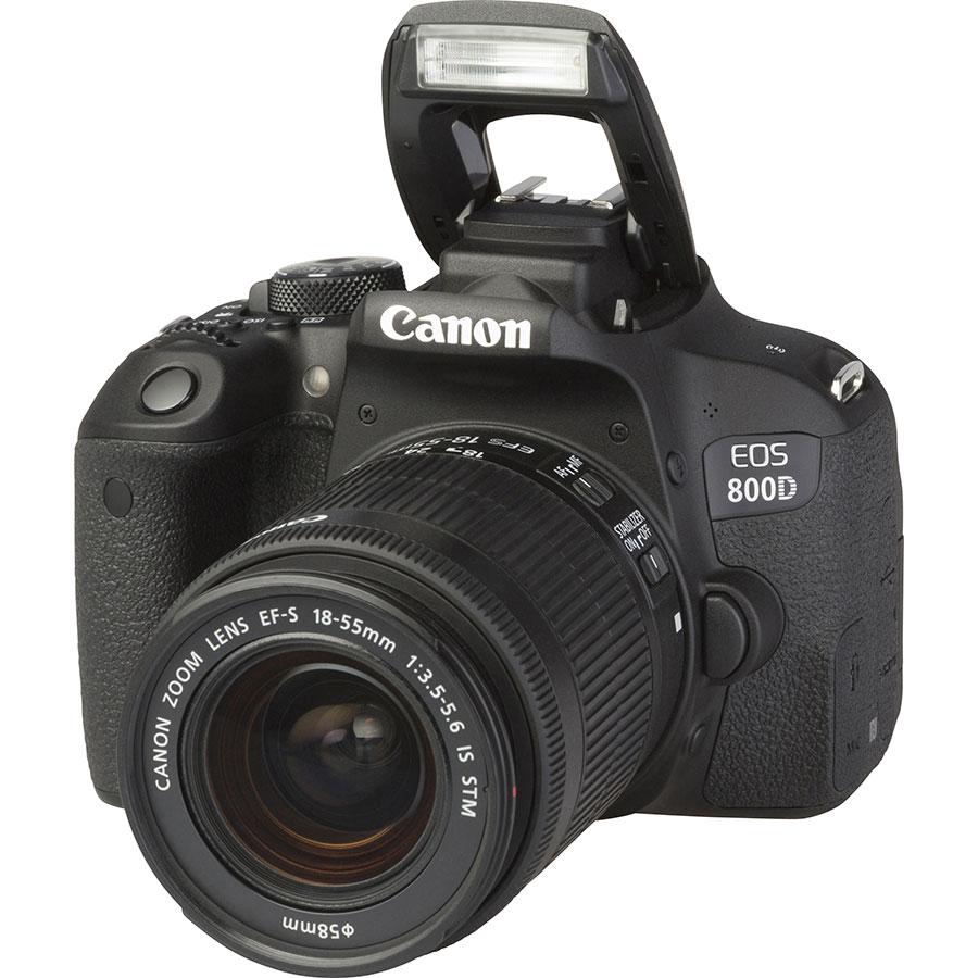 Canon EOS 800D + EF-S 18-55 mm IS STM - Vue principale