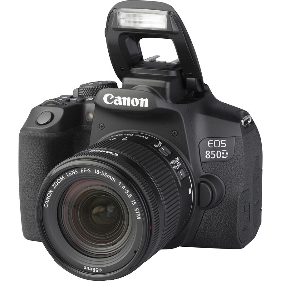 Canon EOS 850D + EF-S 18-55 mm IS STM - Vue principale