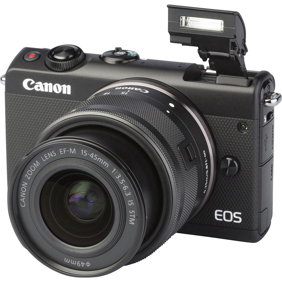 Canon EOS M100 + EF-M 15-45 mm IS STM - Vue principale