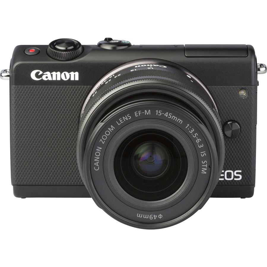 Canon EOS M100 + EF-M 15-45 mm IS STM - Autre vue de face