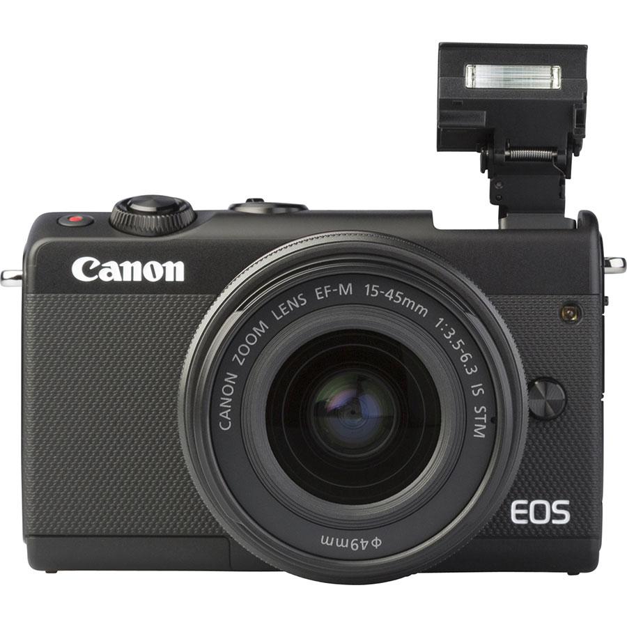 Canon EOS M100 + EF-M 15-45 mm IS STM - Vue de face