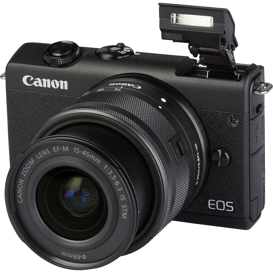 Canon EOS M200 + EF-M 15-45 mm IS STM - Vue principale
