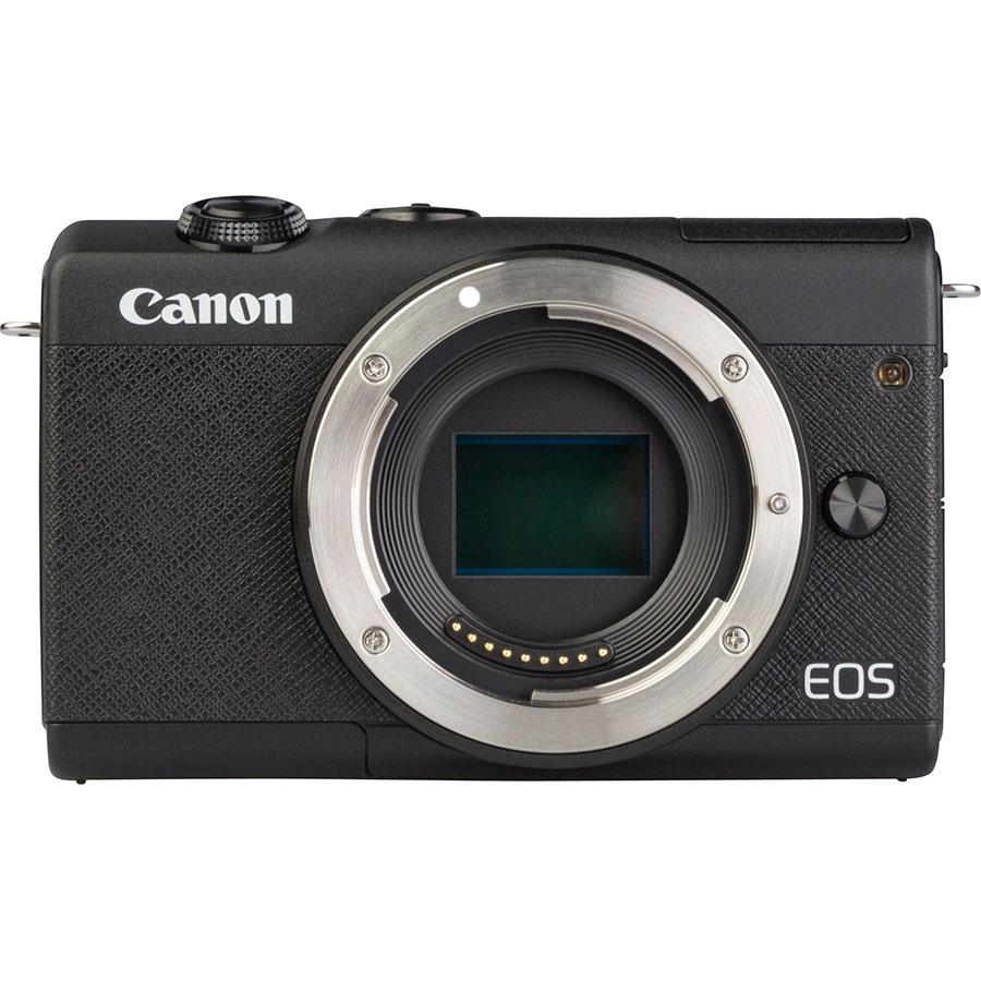 Canon EOS M200 + EF-M 15-45 mm IS STM - Vue de face sans objectif