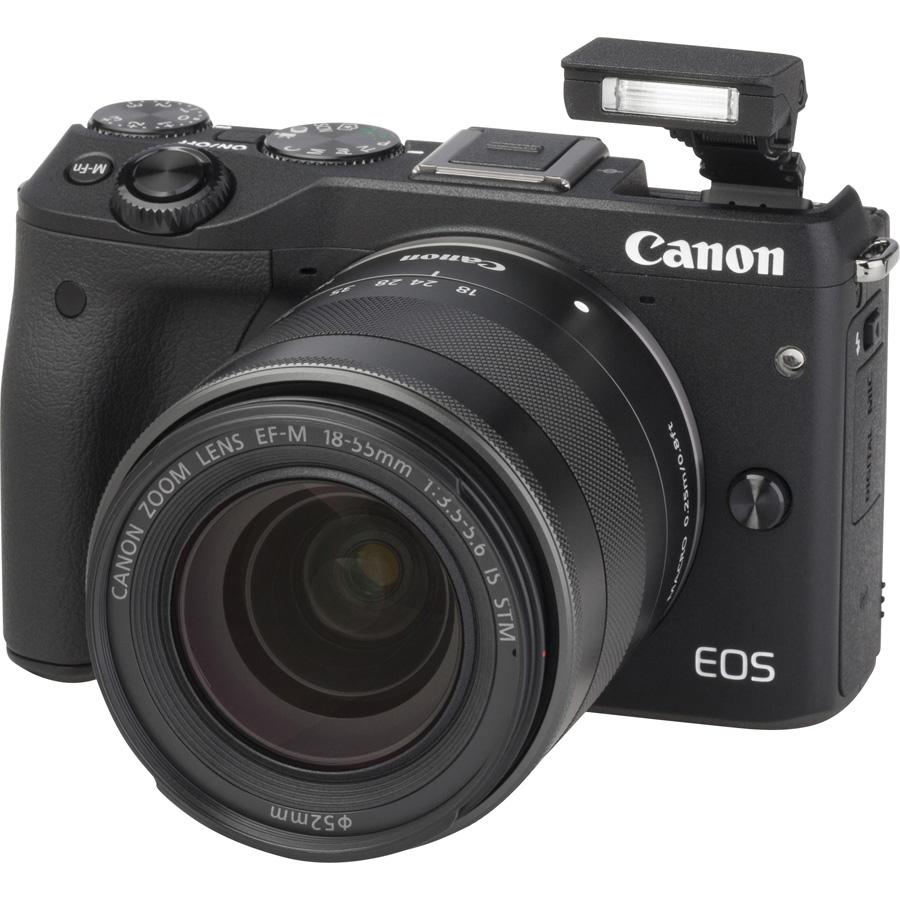 Canon EOS M3 + EF-M 18-55 mm IS STM - Vue principale