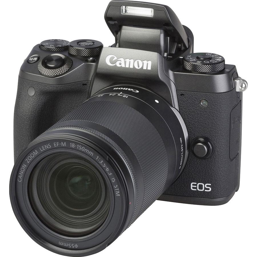 Canon EOS M5 + EF-M 18-150 mm IS STM - Vue principale