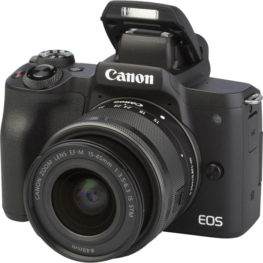 Canon EOS M50 + EF-M 15-45 mm IS STM - Vue principale