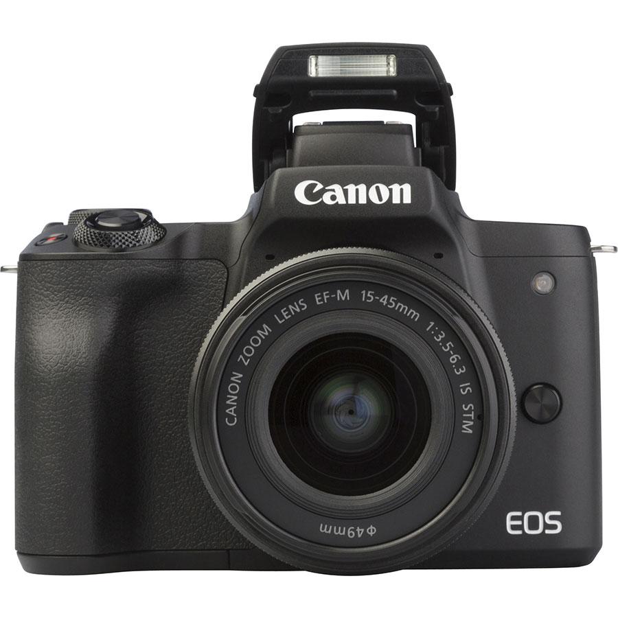 Canon EOS M50 + EF-M 15-45 mm IS STM - Vue de face