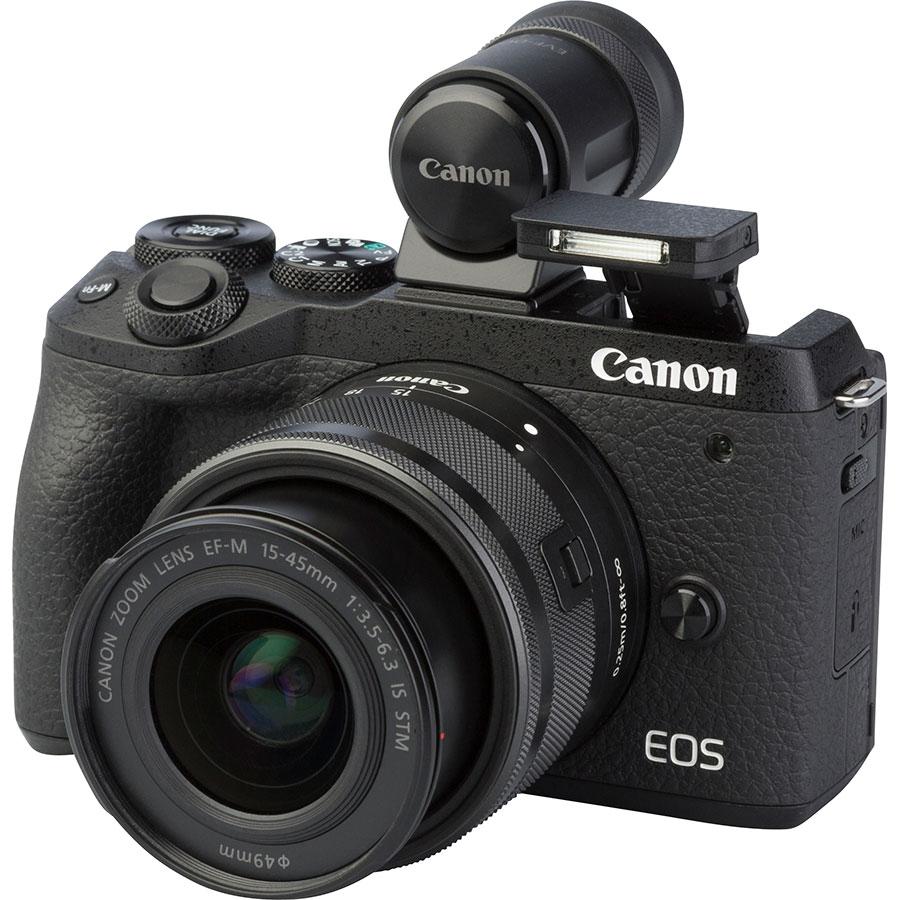 Canon EOS M6 Mark II + EF-M 15-45 mm IS STM - Vue principale
